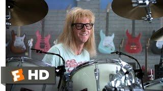 Wayne's World (5/10) Movie CLIP - Garth Likes to Play (1992) HD