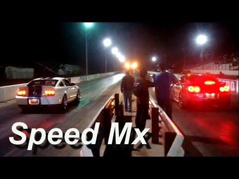 Camaro Mustang Challenger on Mustang Shelby Gt 500 Vs Nissan Gtr