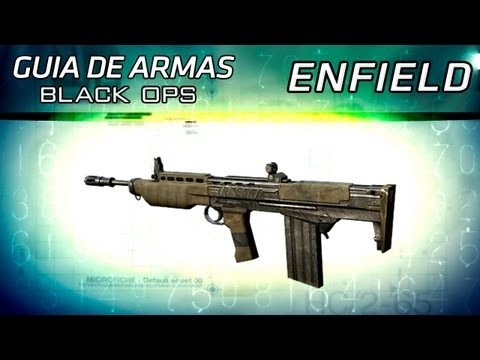Guia de Armas Black Ops - Enfield