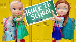 Barbie Dolls Go School Supply Shopping - Toy Store for Kids💝