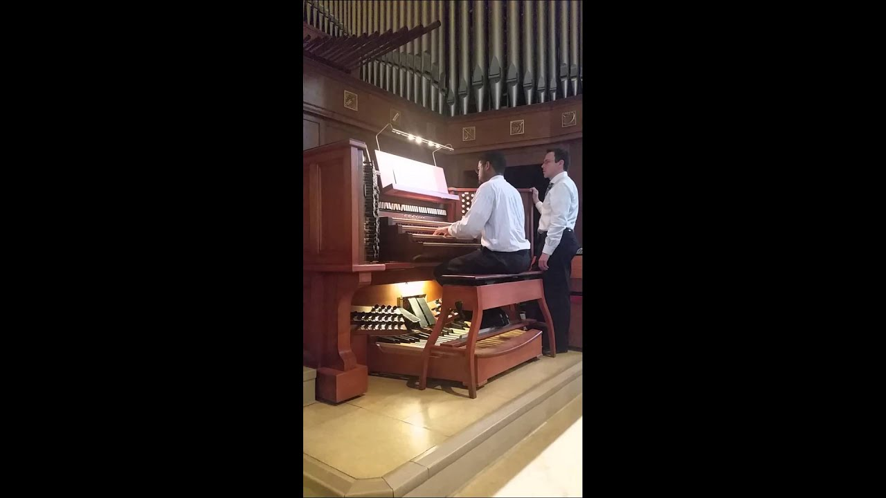 Widor Toccata at the National Shrine - YouTube