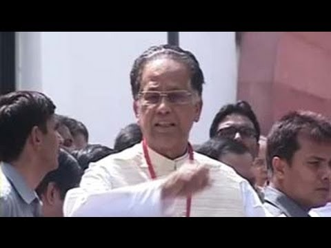 I support NCTC, but with conditions, says Tarun Gogoi