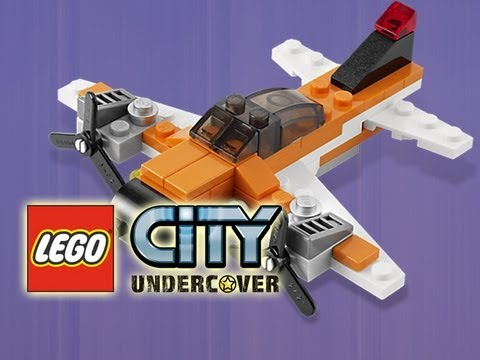LEGO City Undercover - Aircraft Vehicles Showcase = I BELIEVE I CAN FLY !