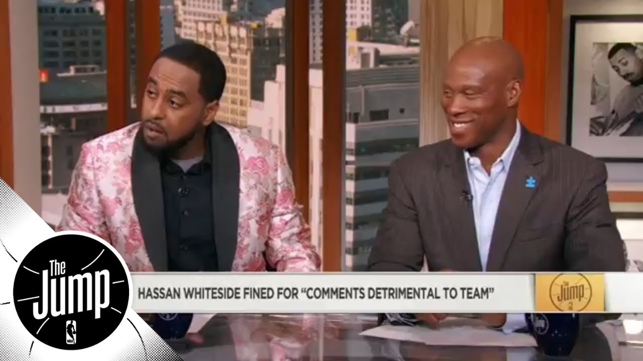 Amin Elhassan and Byron Scott: Hassan Whiteside's comments were 'disrespectful' | The Jump | ESPN