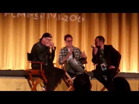 Micheal Rooker and James Gunn