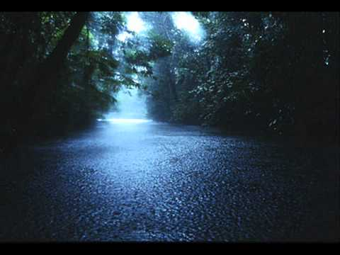 The sound of rain w/o music -15 min.