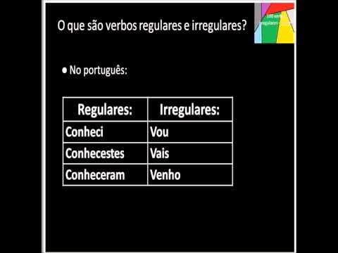 Os 100 verbos irregulares no Inglês parte 6