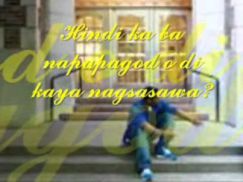 Nakapagtataka (lyrics) Hajji Alejandro video