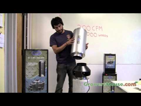 Phresh Carbon Filter & Duct Silencer Review - Activated Carbon for Odor Removal for Grow Rooms