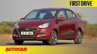 2017 Hyundai Xcent Facelift | First Drive | Autocar India