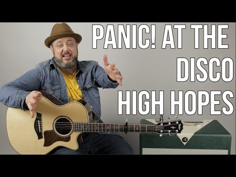 Panic at the Disco! - High Hopes - Guitar lesson
