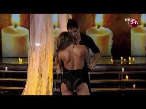 Gianella Marengo nos deja ver su dulce culo bailando adagio [Video HD]
