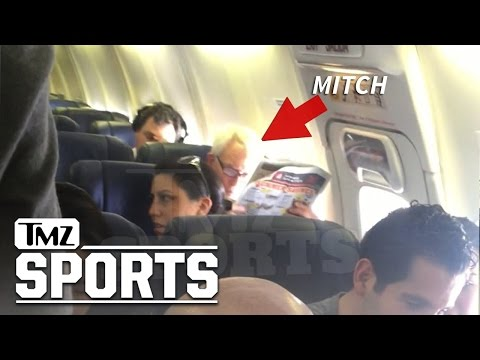 """6'9"""" Mitch Kupchak: Lakers G.M. Flies Southwest ... At Least I'm In Group A!"""