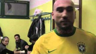 Alex Celotto MMA FAST&FURIOUS 3 Palacarraro pre match (MI genn.2011)