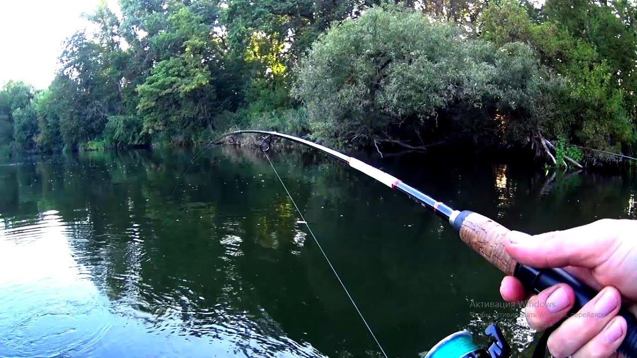 Ловля рыбы спиннингом на малых реках