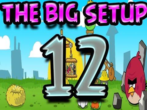 Angry Birds The Big Setup Level 12 Let's Play  Walkthroug