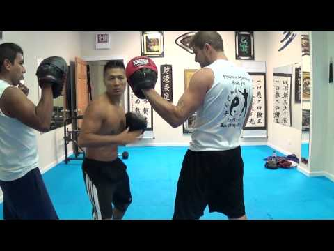 FMK Jab Elbow Focus Mitt Training Image 1