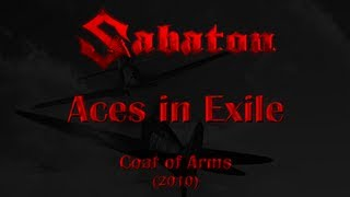Sabaton - Aces in Exile (Lyrics English & Deutsch)