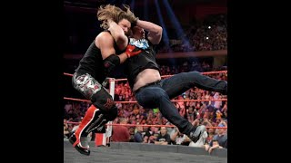 Stone Cold Steve Austin Stunner in AJ Style at RAW in MSG, NYC