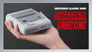 SNES Mini Unboxing + Vorstellung der Features in 4K!