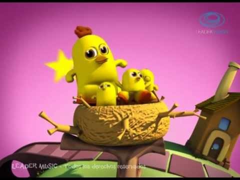 Los Pollitos Dicen Rondas y Canciones Infantiles 3D