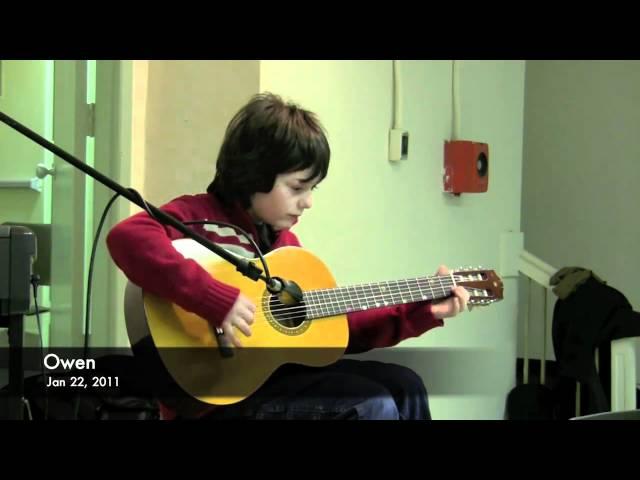 Owen's Winter Music Recital 2011