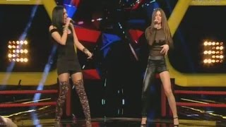 The Voice   Δέσποινα Τάτα vs Χριστίνα Ζιώγα   2o Battle