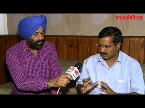 Spl. Interview with Arvind Kejriwal Convener AAP on Ajit Web Tv.