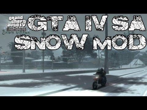 GTA IV SA - Snow Mod Edition