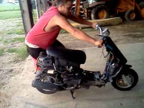 Turbo charged moped!!