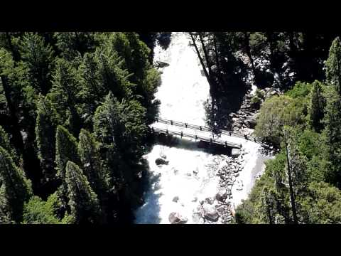 Yosemtie Falls from Mid. Cascades Overlook Video