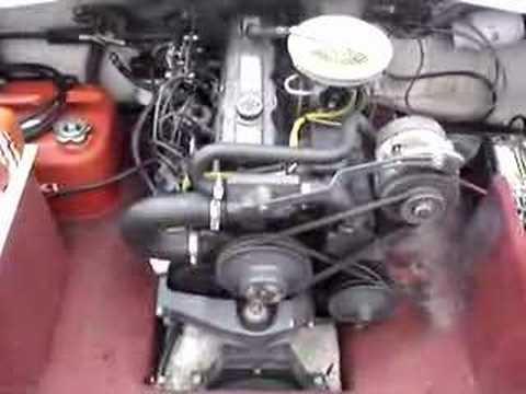 Omc 1987 Cobra 3 0l Stern Drive Running Youtube