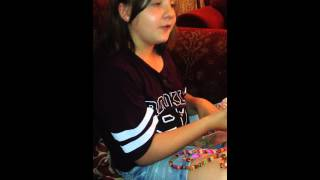 Loom Band Dress - Video 8 - Day three evening