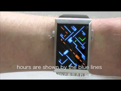Kisai Traffic LED Watch From Tokyoflash Japan