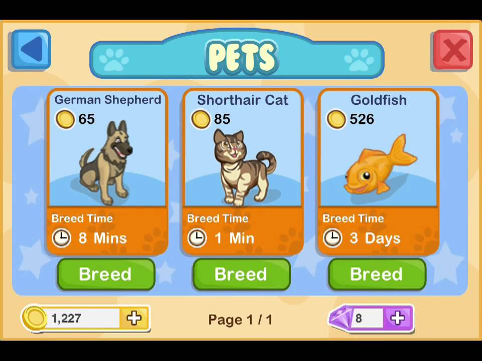 Pet Shop Story Crossbreeds Pet Shop Story™ Ios Iphone