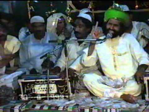 Urs Syed Nanhy Mian 1993 Qari Saeed Chishti Prt 3 qwali Jaon...