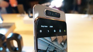 Samsung Galaxy A80 + A70 Hands-On: What's Up With The Notch?