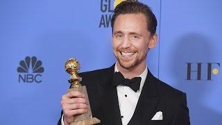 Tom Hiddleston Wins FIRST Golden Globe - See His Touching Speech