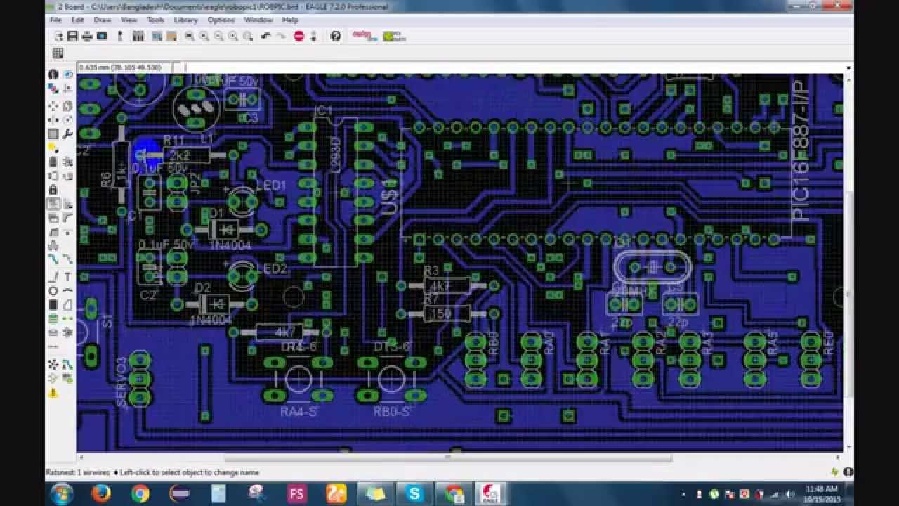 Perfect Cad Eagle Model - Electrical Circuit Diagram Ideas ...