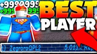 WORLDS BEST PLAYER SHARES SECRET TIPS & GLITCH!! - Roblox Super Power Training Simulator