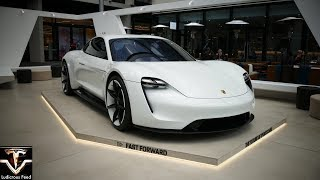 Porsche Mission E (Taycan) arrives in Sydney, Australia