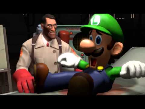 Luigi visits the doctor (Luigipalooza collab entry)