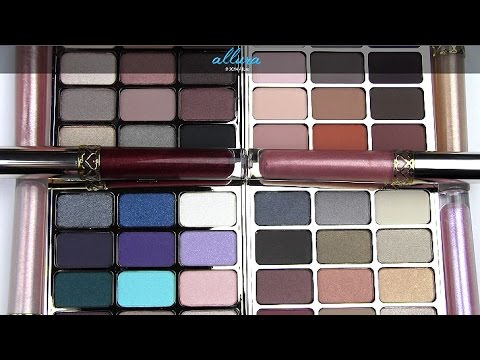 Stila 20th Anniversary Collection: Live Swatches & Review