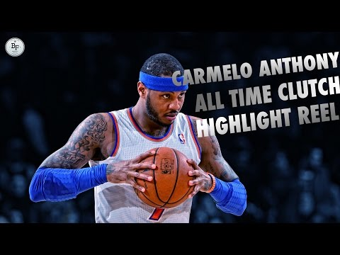 Carmelo Anthony Ultimate Clutch Reel! 2003-2015!