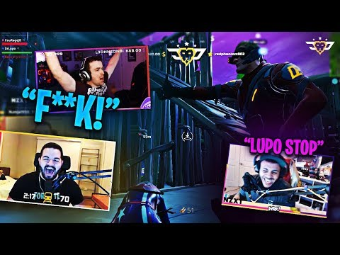 COURAGE FIGHTS MARCEL'S WIFE! DARK MODE LUPO IS INSANE! (Fortnite: Battle Royale)