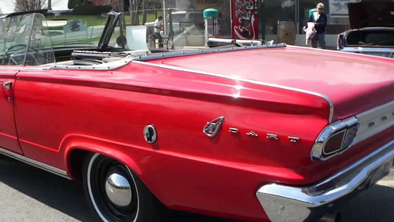1966 Dodge Dart GT Convertible For Sale~ONLY 58,000 MILES! - YouTube