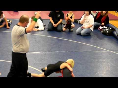 Crescent High School Future Wrestler Alex 55lb Champion!