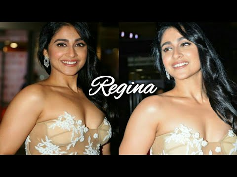 Actress Regina hot entrance in Filmfare | filmfare awards highlights | Tollywood film news