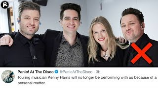 Download Lagu Panic! At The Disco Guitarist Kenneth Harris EXPOSED For Misconduct Gratis STAFABAND
