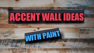 ACCENT WALL IDEAS - AMAIZING